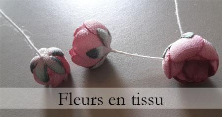 Fleur en tissu, fer à boules, fer à gaufrer fleuriste artificiel