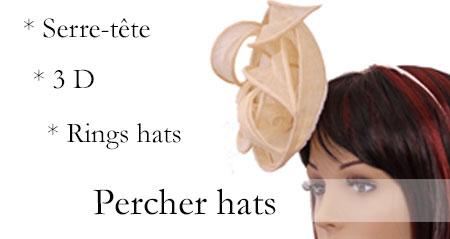 Percher hats