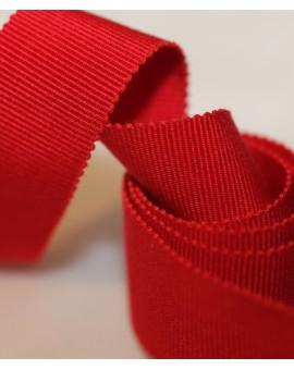 Vue générale - Gros grain rouge
