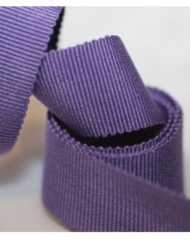 Vue générale - Gros grain violet