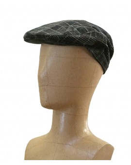 CASQUETTE ANGLAISE BRAEMARL GRISE