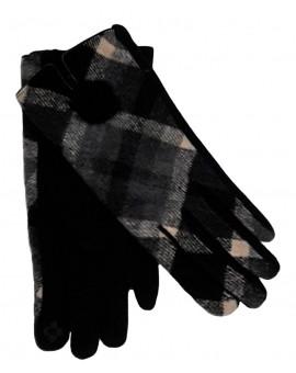 Gants hiver femme coton