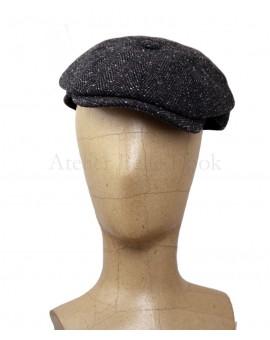 Casquette irlandaise noire