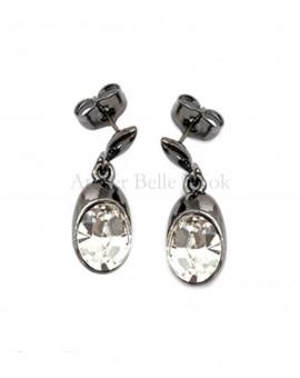 Boucles d'oreilles BOHM Swarovski® Cristal