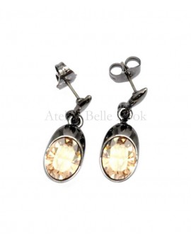 Boucles d'oreilles BOHM SW Golden shadow (jaune)