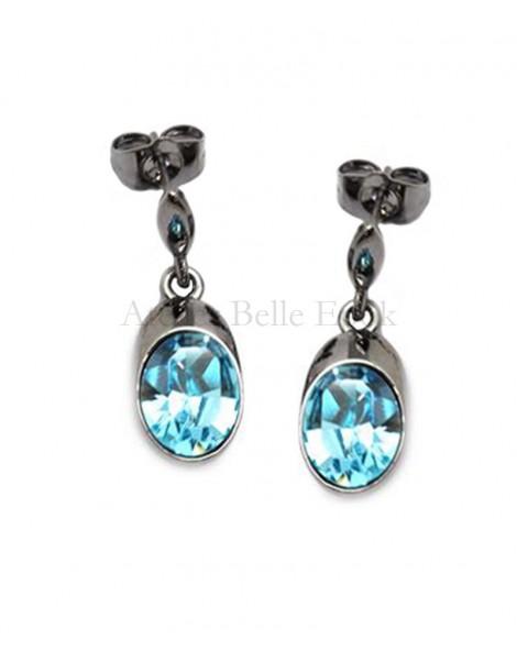 Boucles d'oreilles BOHM SW Denim Blue (bleu)