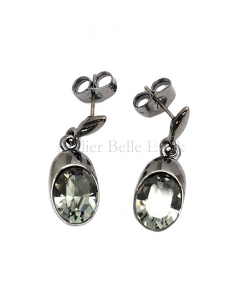 Boucles d'oreilles BOHM SW Black Diamond (gris)