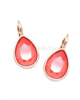 Boucles d'oreilles BOHM SW Light Coral