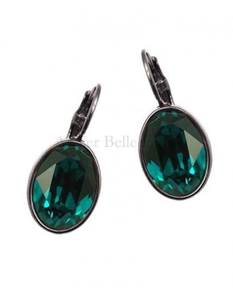 Boucles d'oreilles BOHM SW Emerald