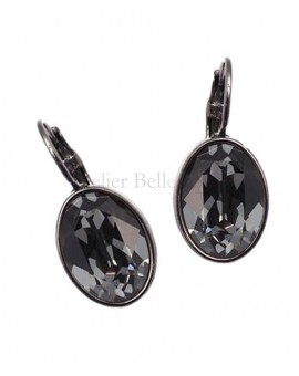 Boucles d'oreilles BOHM SW Silver night